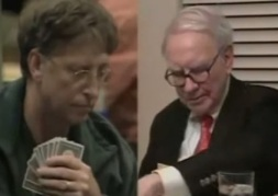 Bill Gates en Warren Buffet