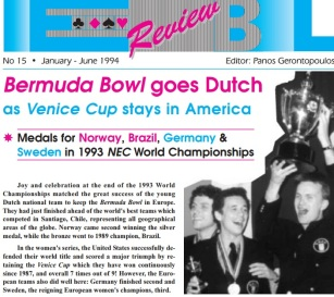 Bermuda Bowl 1993 Nederland