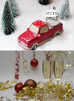 kerst-, oud en nieuw