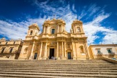 Noto Italy Baroque Church Sicily Cathedral